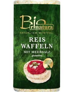 Rinatura Bio Reiswaffeln mit Salzzusatz, 100 g