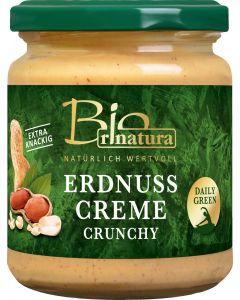 Rinatura Bio Erdnuss-Creme crunchy, 250 g