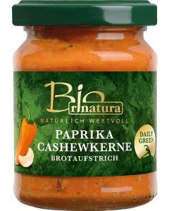rinatura Brotaufstrich Paprika-Cashewkerne Bio 125 g