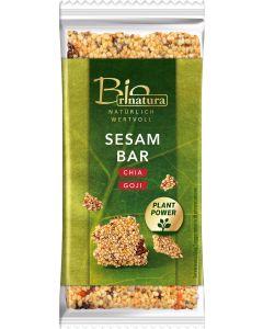SESAM BAR CHIA BIO von RINATURA, 50 G