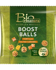 BOOST BALLS TORTILLA & SALTED CARAMEL BIO von RINATURA, 32 G